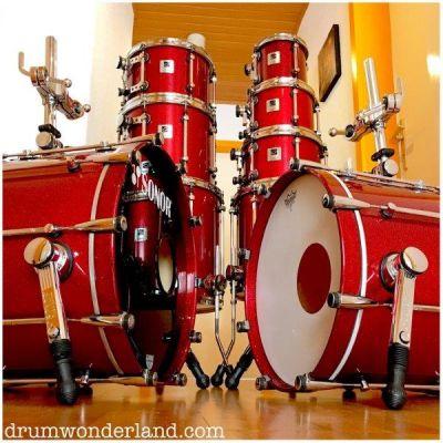 Sonor Designer Birch Shells Red Sparkle