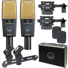 AKG C414 XLS/ST matched Pair