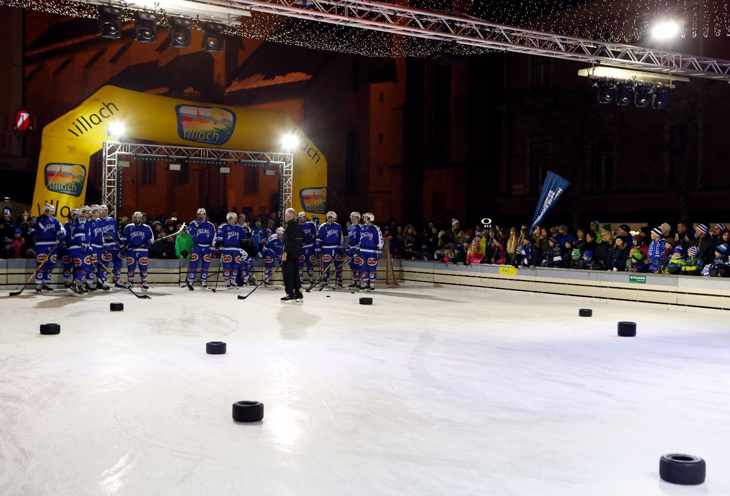 ICEFEEVER VSV| Februar2017  Showtraining | TOWN HALL SQUARE VILLACH